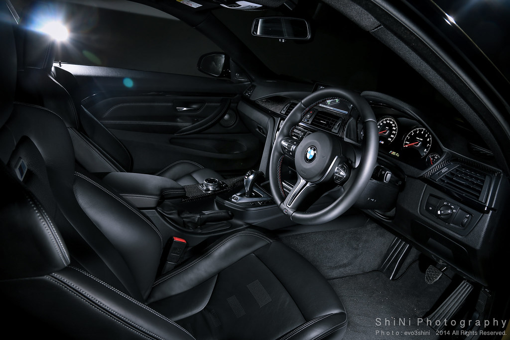 ... ShiNiPhotography BMW M4 Coupe Interior | By ShiNiPhotography