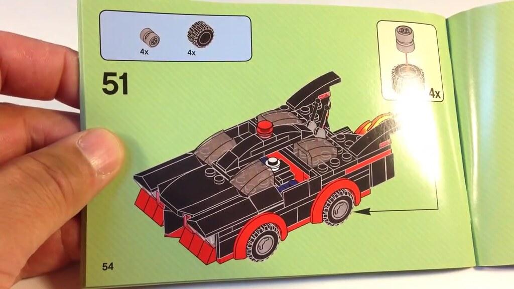 Lego Batman Classic Tv Series Batmobile Instructions Flickr