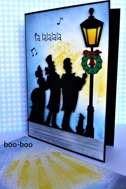 Carolers with Boo boo panel