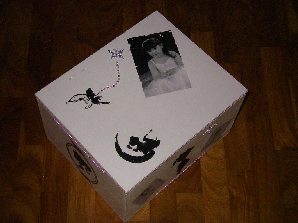 Cassetta Del Vino In Legno Decorata Stefania Flickr
