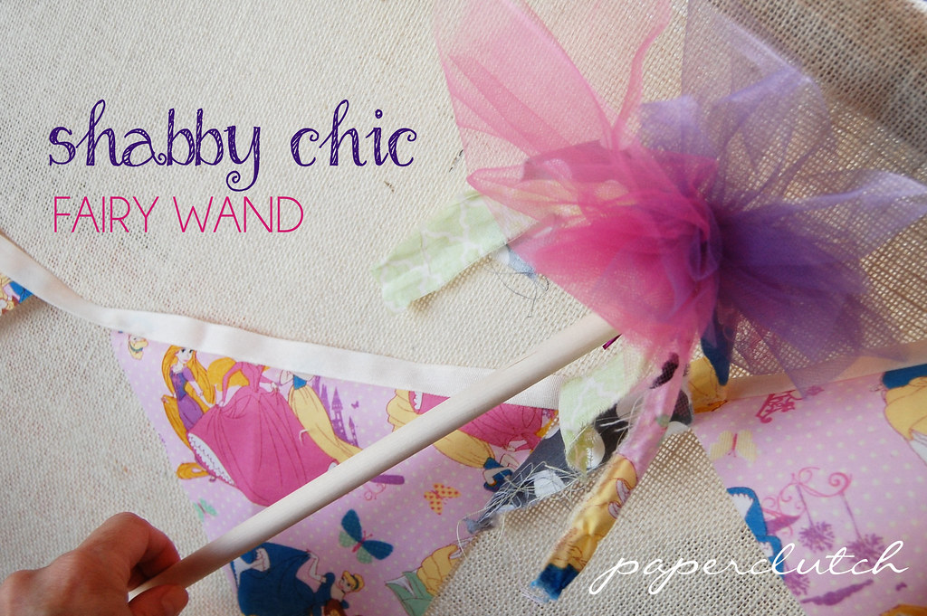 Shabby Chic Wand shabby chic fairy wand | paperclutch.blogspot | flickr