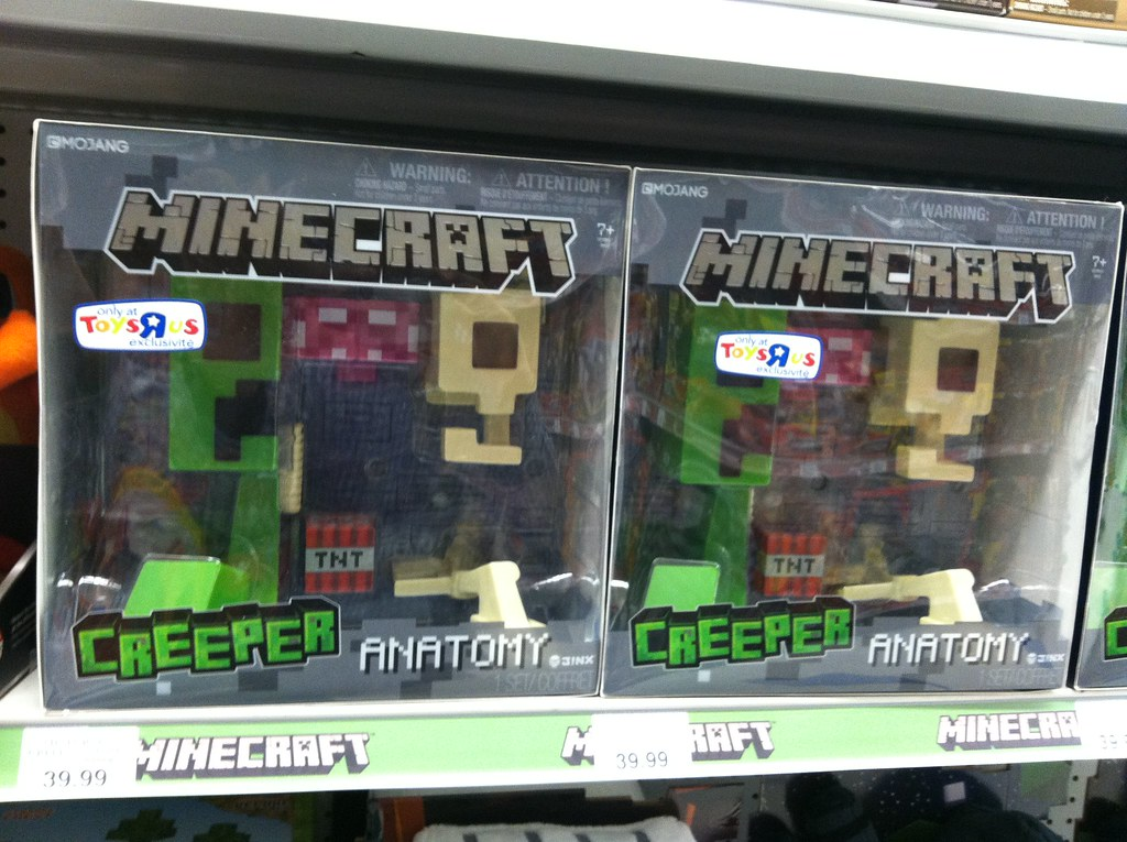 Minecraft Creeper Anatomy, Only at Toys R Us | Minecraft Cre… | Flickr