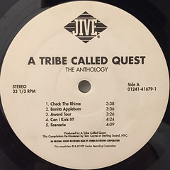 A TRIBE CALLED QUEST:THE ANTHOLOGY(LABEL SIDE-A)