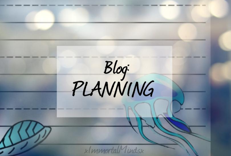 BLOG: PLANNING