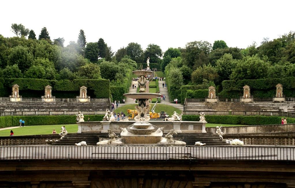 Florenz giardino di boboli aussicht vom palazzo pitti fu flickr