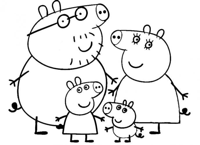 ... Blog Desenhos do Peppa Pig para colorir pintar imprimir, desenhos peppa  pig, pintar,