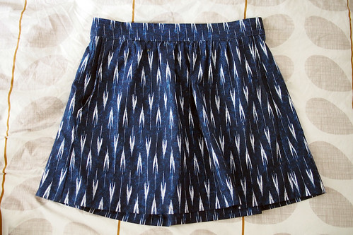 Ikat Everyday Skirt | by What Katie Does