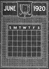 Blackboard Calendar A 06