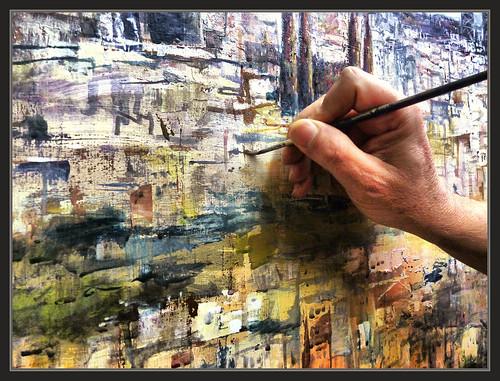 Barcelona pintura paisajes panoramicas pintar fotos pintor flickr - Pintores de barcelona ...
