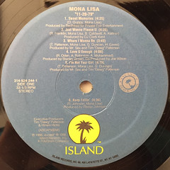 MONA LISA:11-20-79(LABEL SIDE-A)