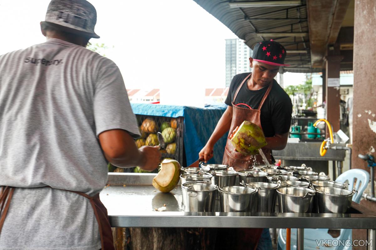 Warung Cikgu Coconut Drink