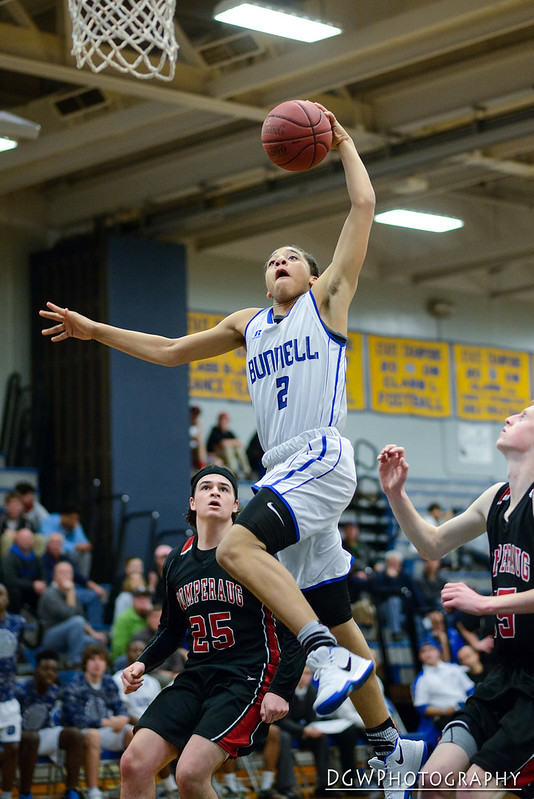 Bunnell vs. Pomperaug High - High School Basketball