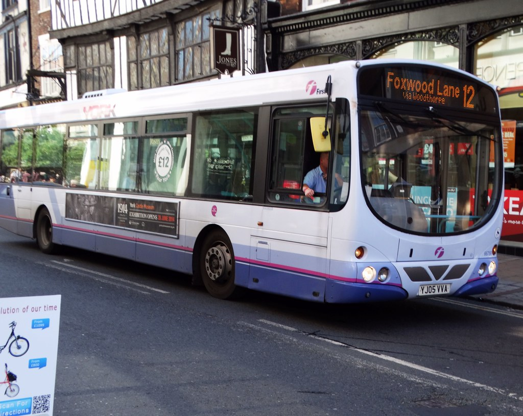 First Bus Yj05 Vva By Bazzadarambler York First Bus Yj05 Vva By Bazzadarambler