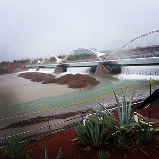 Tempe Town Lake is taking a beating this morning... | by runnr_az
