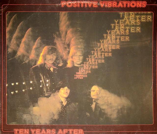 "Ten Years After - Positive Vibrations 12"" vinyl LP"