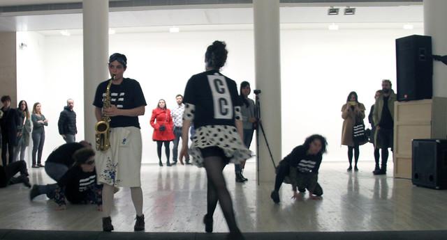 TESLA 2017 - ACTO V - CUADRO FINAL: CRISOPA & EDUARDO CORTINA - MUSEO DE LEÓN - 25.02.17