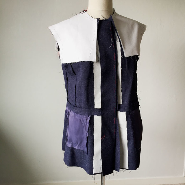 blue denim wool on form inside1