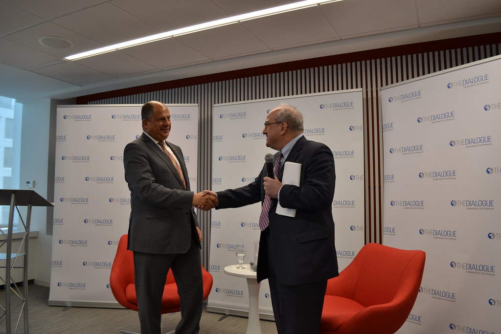 Central America's Challenges: A Conversation with Luis Guillermo Solís