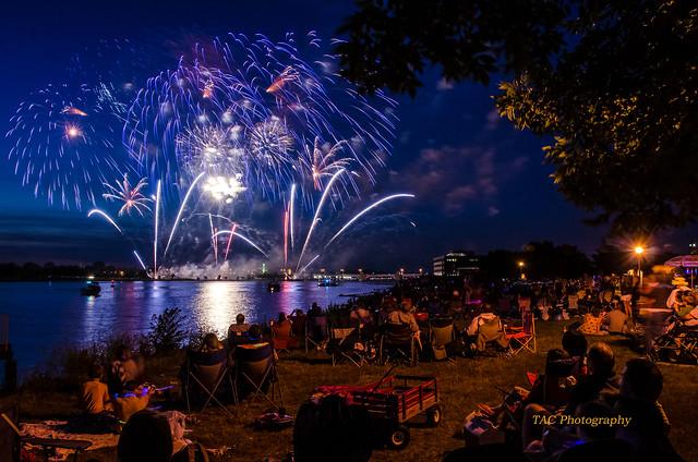 Bay City fireworks 2014