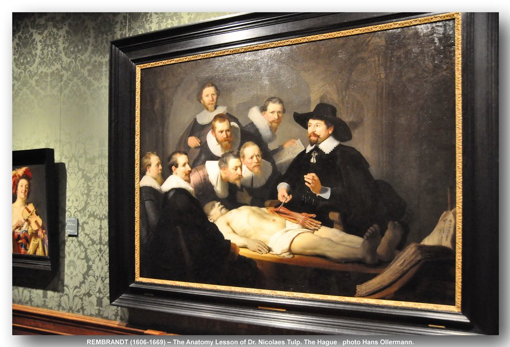 Rembrandt 1606 1669 The Anatomy Lesson Of Dr Nicolaes Flickr