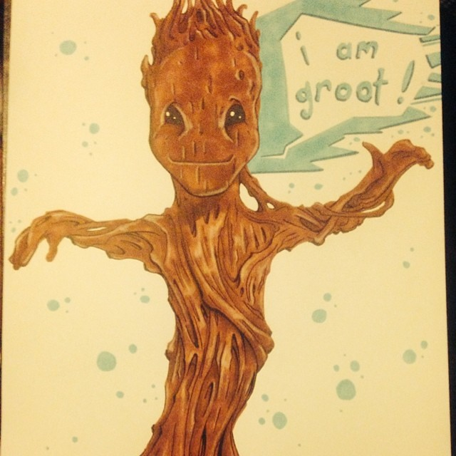 d6f709402875c https://www.etsy.com/au/shop/KyleCoffeyArt now available is the dancing  baby groot for any fans of the new movie guardians of the galaxy.