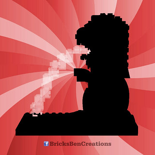 BricksBen - LEGO Merlion Singapore Icon - Teaser | by BricksBen LEGO® Creations