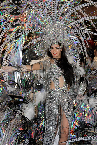 Madeira - Funchal Carnival Silver costume