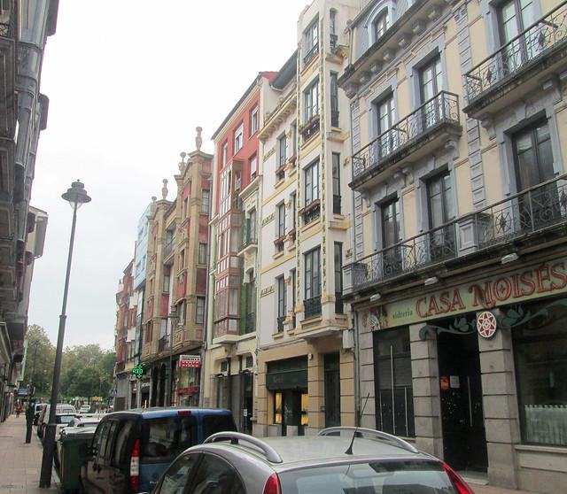 Street Scene Avilés
