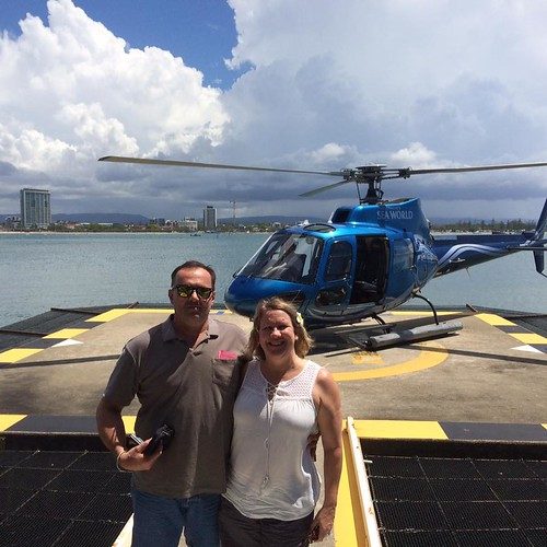 Seaworld helicopter ride