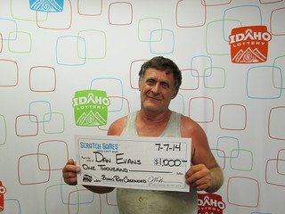 Dan Evans - $1,000 Bonus Play Cashword | by Idaho Lottery