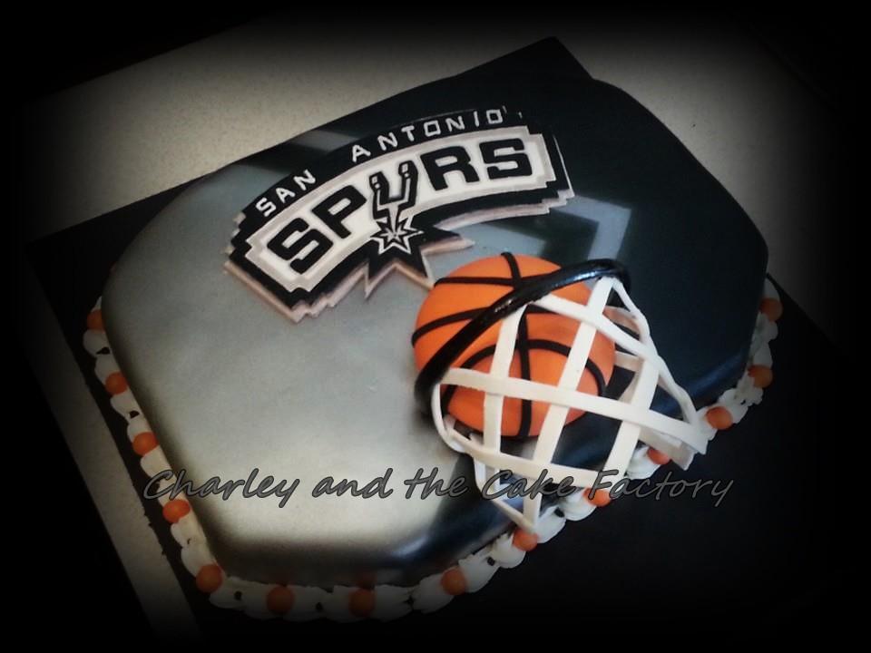 San Antonio Spurs Basketball Cake Charley Flickr