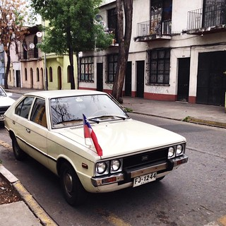 Hyundai Pony 1978 - Santiago, Chile | by RiveraNotario