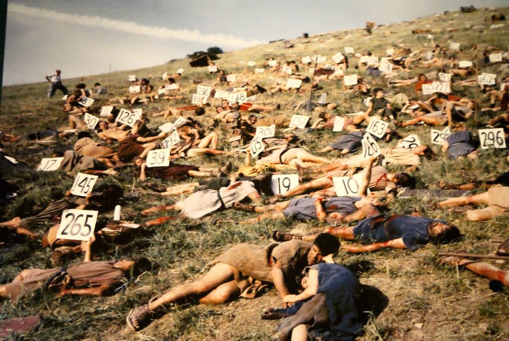Sur le tournage de Spartacus. Kubrick au LACMA de Los Angeles.