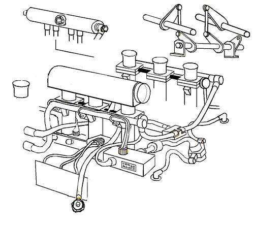 porsche 911 gt1 throttles  wires  plumbing  cartoon  1998  u2026