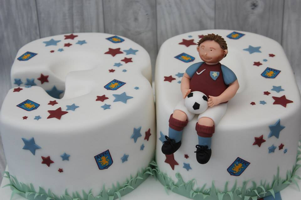 Aston Villa 30th Birthday Cake Peanut Butter Chocolate Flickr