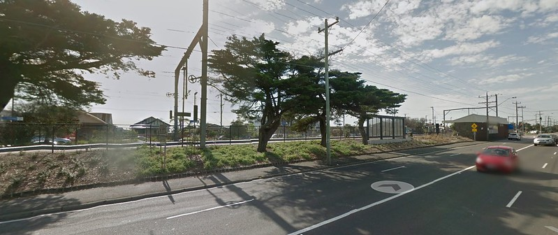 Edithvale station, October 2015 (Google Streetview)