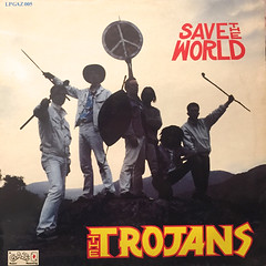 THE TROJANS:SAVE THE WORLD(JACKET A)