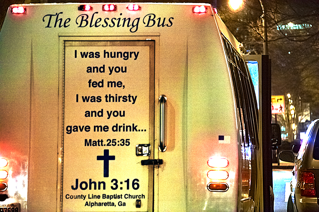 The Blessing Bus--Atlanta