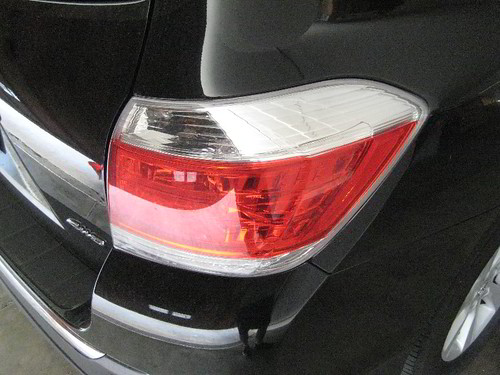 2013 Toyota Highlander Suv Tail Light Assembly Changin