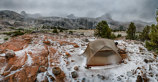 Forester Pass camp after the storm | by speedcenter2001