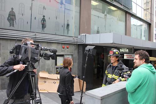Barber Embassy : ... Firefighters visit New Zealand Chris Barber is interv? Flickr