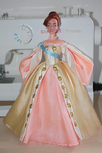 Anastasia Imperial Dress I Added The Golden Details