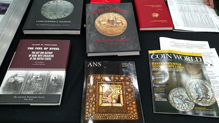 Books at the ANS table Baltimore 2017-03