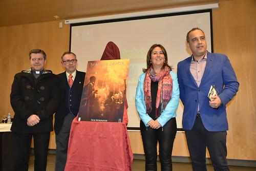 Presentación del Cartel de la Semana Santa obra de José María Gordillo