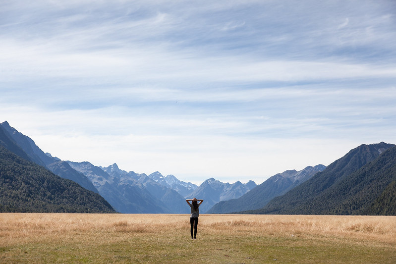 Eglinton Flats, Fiordland, New Zealand
