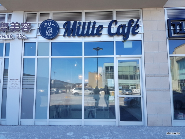 Millie Cafe storefront