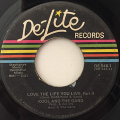 KOOL & THE GANG:LOVE YOUR LIFE YOU LIVE(LABEL SIDE-B)