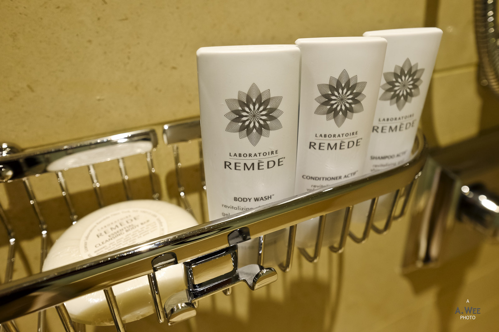 Remede bath amenities