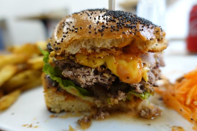 Simpson Burger @ XV Burger @ Montparnasse @ Paris