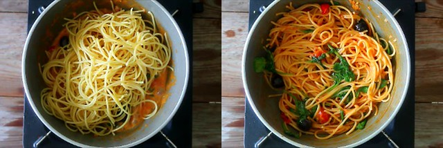 spinach tomato pasta 6